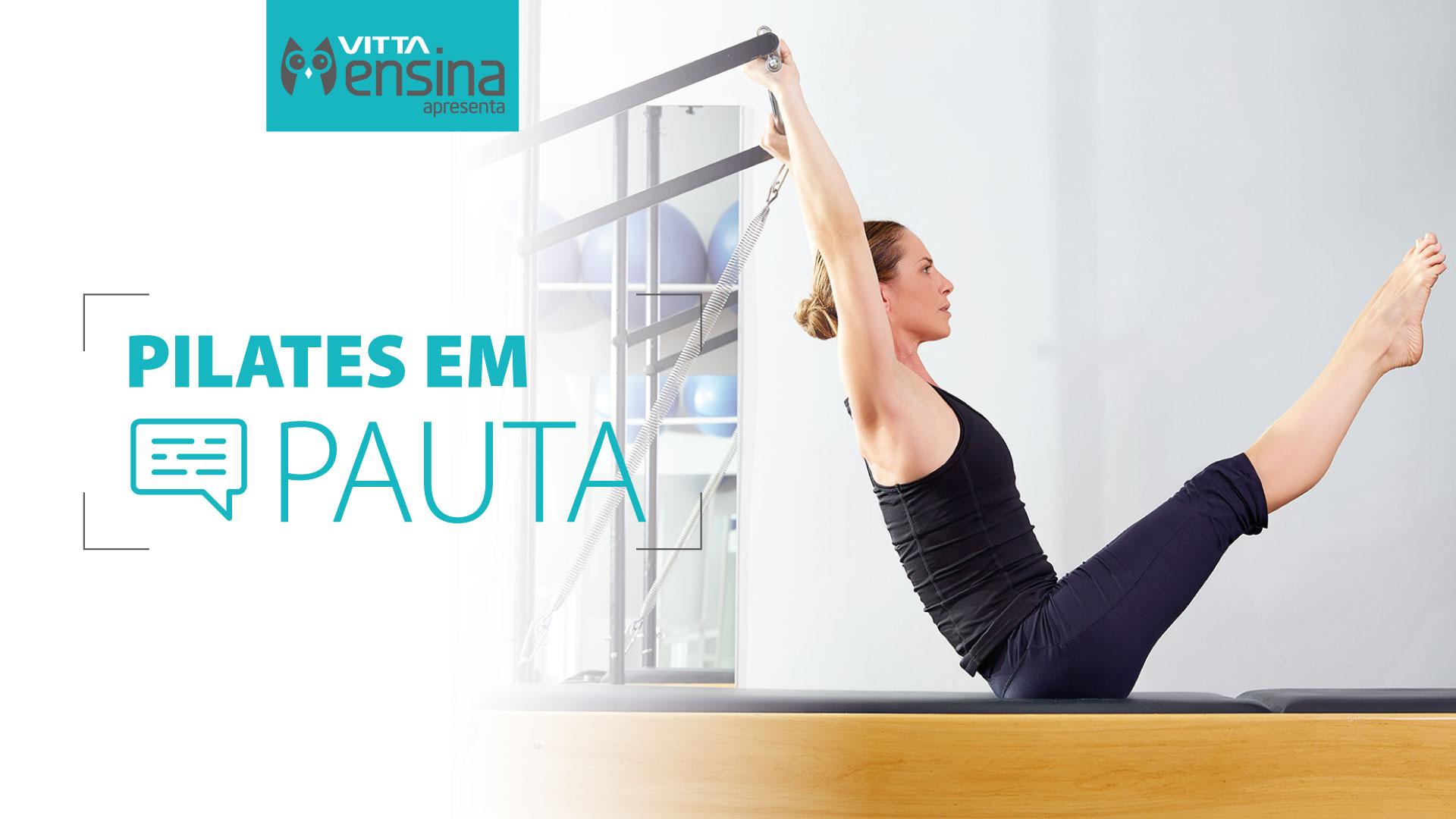 Pilates em Pauta